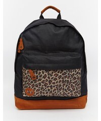Mi-Pac - Leopard - Sac à dos motif léopard - Noir - Noir