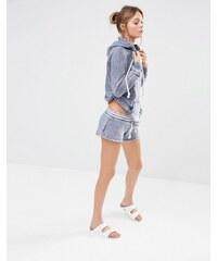 Ocean Drive - Gestreifte Shorts - Marineblau
