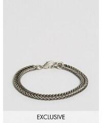 Seven London - Bracelet chaîne à maillons - Exclusivité ASOS - Argenté