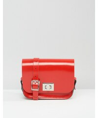 The Leather Satchel Company - Pixie - Mini-Umhängetasche - Rot