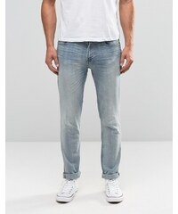 Hollister - Enge Jeans in heller Farbe - Blau