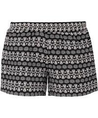 S.Oliver Denim Kurze Shorts mit Jacquard Muster