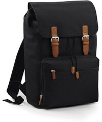 Prostorný retro batoh - Černá univerzal