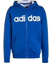 adidas Performance ESSENTIALS Sweatjacke blue/white