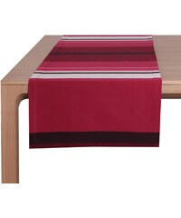 Jean Vier Pampelune - Chemin de table - rouge