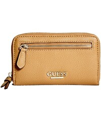 GUESS GUESS Genevia Medium Zip-Around - cognac