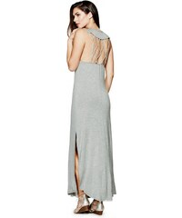 GUESS GUESS Agnes Maxi Dress - light melange grey