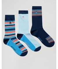 Original Penguin - Socken im 3er Pack - Blau