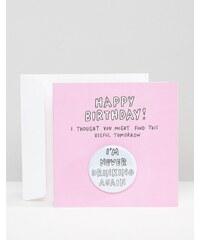 Veronica Dearly - I'm Never Drinking Again - Carte d'anniversaire - Multi