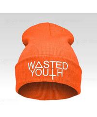 Wayfarer Čepice Beanie Wasted oranžová