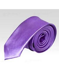 Saténová kravata Wayfarer fialová 913