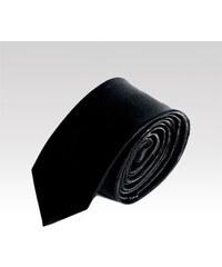 Saténová kravata Wayfarer černá 463