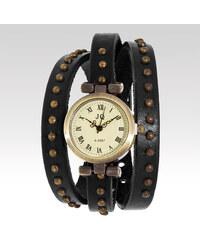JQ Analogové hodinky Wayfarer Bobo černé