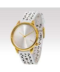 Dámské hodinky Komono ESTELLE White gold
