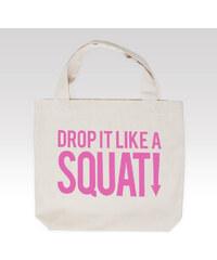 Wayfarer dámská taška Squat růžový nápis