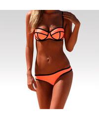 Wayfarer dámské neoprénové plavky Triangle spodní díl oranžové