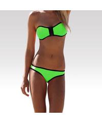 Wayfarer dámské neoprénové plavky Wave spodní díl zelené S