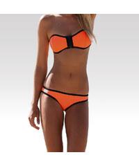 Wayfarer dámské neoprénové plavky Wave spodní díl oranžové S