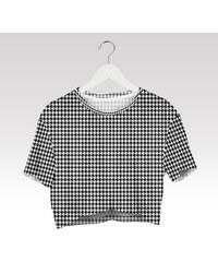 Wayfarer Crop-top tričko Pepitka