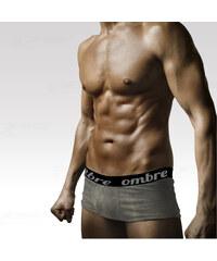 Ombre Clothing Boxerky šedé M