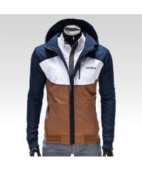Pánská podzimní bunda Ombre Clothing Rodney hnědá S