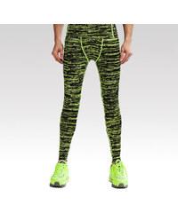 Vansydical pánské fitness legíny Moss zelené M