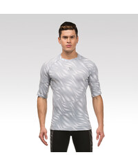 Vansydical pánské fitness tričko Wave bílé M