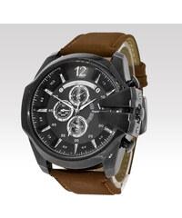 V6 pánské analogové hodinky Boss hnědé