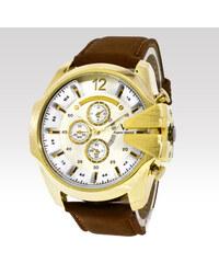 V6 pánské analogové hodinky Boss zlaté