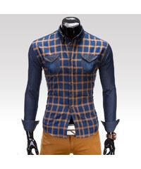 Ombre Clothing Košile Robbie hnědá S
