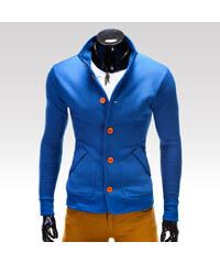 Ombre Clothing Mikina Cameron modrá