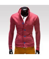 Ombre Clothing Mikina Cameron červená