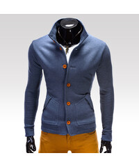 Ombre Clothing Mikina Cameron jeansová