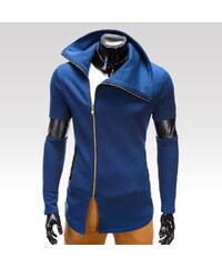 Ombre Clothing pánská mikina Pietro tmavě modrá