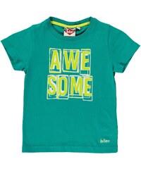 Tričko Lee Cooper Graphic dět. zelená
