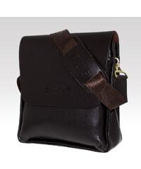 Ombre clothing pánská taška přes rameno Briefcase hnědá
