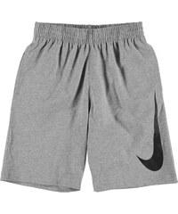 Teplákové kraťasy Nike Jersey dět. šedá