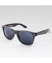 VeyRey Brýle Nerd Puntíky černé