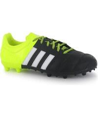 Kopačky adidas Ace 15.3 Leather FG dět. černá/žlutá