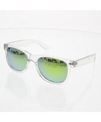 VeyRey Sluneční brýle Wayfarer Clear zlatá skla