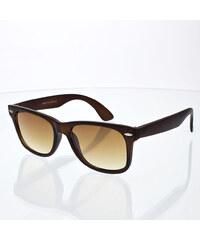 VeyRey sluneční brýle Nerd Frosted hnědé