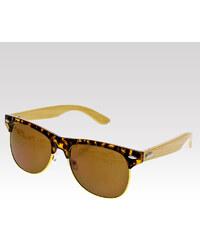 VeyRey sluneční brýle Wood leopard