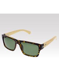 VeyRey dřevěné sluneční brýle Willow leopard