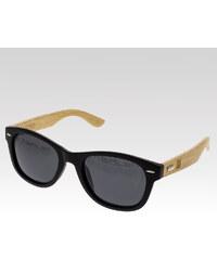 VeyRey dřevěné sluneční polarizační brýle Salsify kouřová skla.