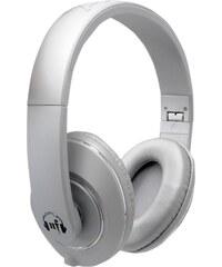 Sluchátka No Fear Pulse Headphone stříbrná