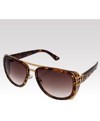 VeyRey sluneční brýle Camel hnědé