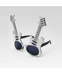 VeyRey Sluneční párty brýle Rocker stříbrné 1378