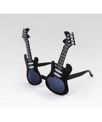 VeyRey Sluneční párty brýle Rocker černé 1377