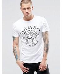 Mambo - Mexico Dia De Los Muertos - T-Shirt - Weiß