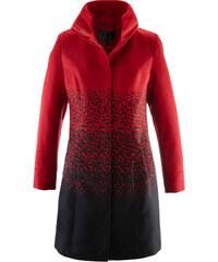 bpc selection Manteau imitation laine rouge manches longues femme - bonprix